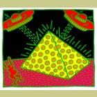 Keith Haring Fertility Plate 2