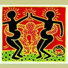 Keith Haring Fertility Plate 4