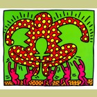 Keith Haring Fertility Plate 5