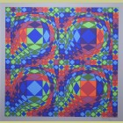 Victor Vasarely Quadreture B