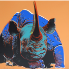 Andy Warhol Black Rhinoceros
