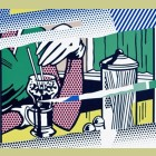 Roy Lichtenstein Reflections on Soda Fountain