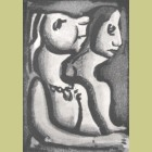 Georges Rouault Les Deux Matrones (The Two Matrons)