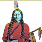 Andy Warhol Sitting Bull