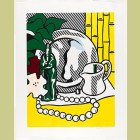 Roy Lichtenstein Still Life with Figurine