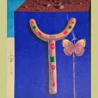 Salvador Dali Surrealist Crutches