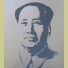 Andy Warhol (after) Mao (Silver)