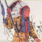 Andy Warhol War Bonnet Indian