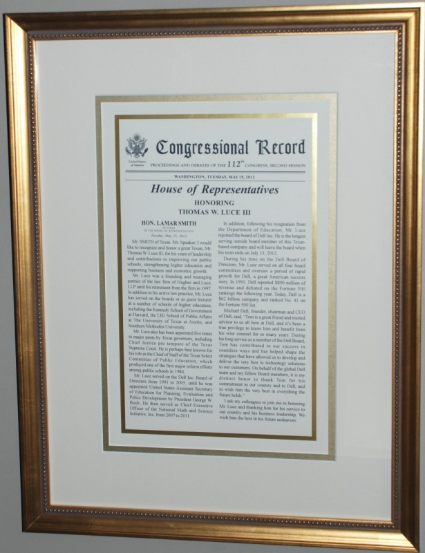 Image gallery | Certificates & Flags | Georgetown Frame Shoppe